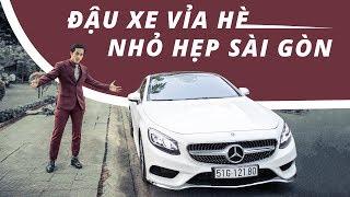 Đậu xe chuẩn vỉa hè nhỏ hẹp Sài Gòn Kỹ năng Ô Tô Căn bản