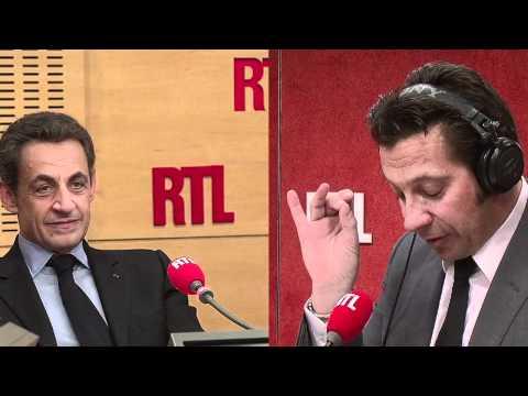 La chronique de Laurent Gerra devant Nicolas Sarkozy jeudi 3 mai (réalisation Gaya Bécaud)
