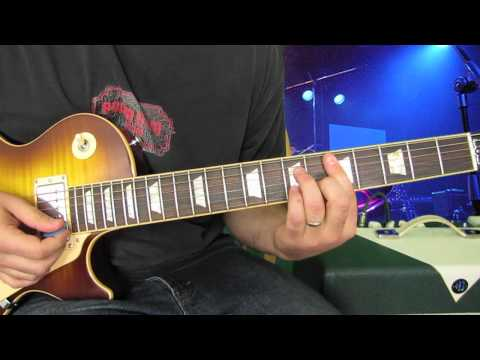 Guitar Lessons - Chords - Learn The Funk Electric Guitar Lesson Rhythm And Strumming