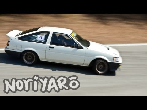 AE86 touge drift on-board �������山梨��������������