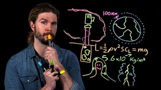 Calculating Where Space Begins (Because Science Live!)