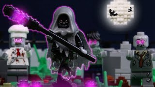 LEGO Halloween Zombies vs Skeletons Attack