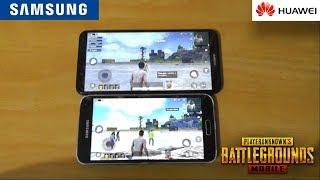 PUBG Mobile Gameplay - Galaxy S5 vs Huawei Y7 (2018)