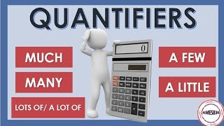 Quantifiers Lesson, Much many a lot of, a few a little