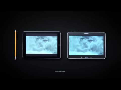 Samsung Mocks Apple with Galaxy Tab Pro 10.1 Commercial !