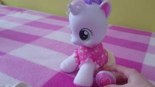 🐎MY LITTLE PONY🐎 Showing, playing with pony. ИГРЫ с лошадкой, рассказ.