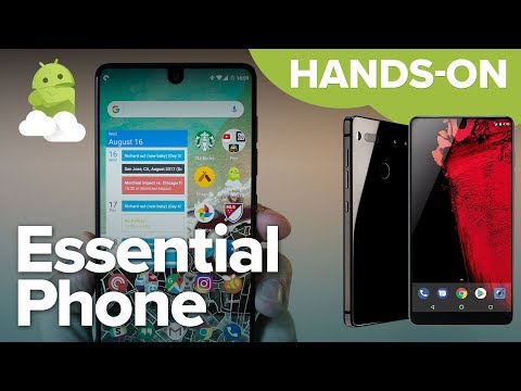 Essential Phone PH-1 hands-on preview!
