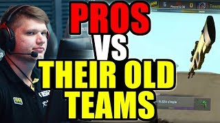 When CS:GO Pro Players DESTROY Their Old Team! (Ridiculous Plays)