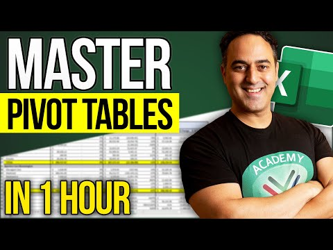 Excel Pivot Tables in 1 Hour: Excel 2013, 2010 & 2007