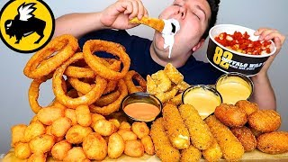 My First Time Trying Buffalo Wild Wings Sides • MUKBANG
