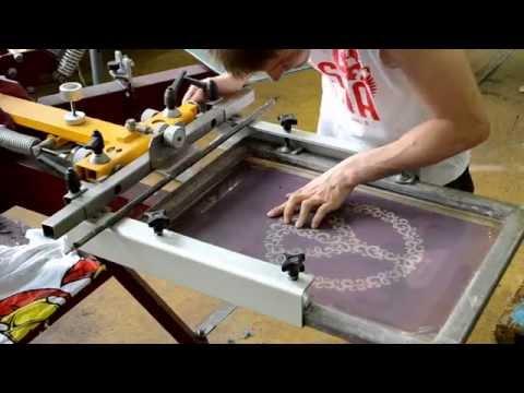 Трафаретная печать на картоне своими руками 72