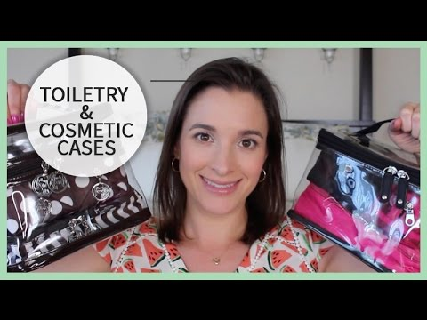 Packing Organization | Toiletries & Cosmetic Cases | 2015 Travel Series