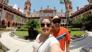 Conhecendo ST AUGUSTINE na FLORIDA #1