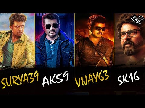 Tamil Cinema Biggest Movies List of Next Year | Vijay | Ajith | Suriya | Sivakarthikeyan | Vijay63