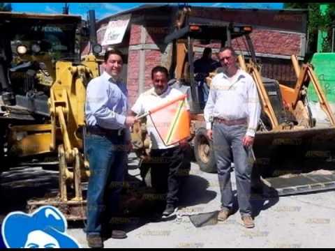Arrancan obras de pavimentacion en nacozari ..