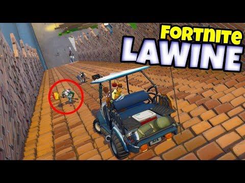 LAWINE MINI-GAME - Fortnite met Don & Link & Joost