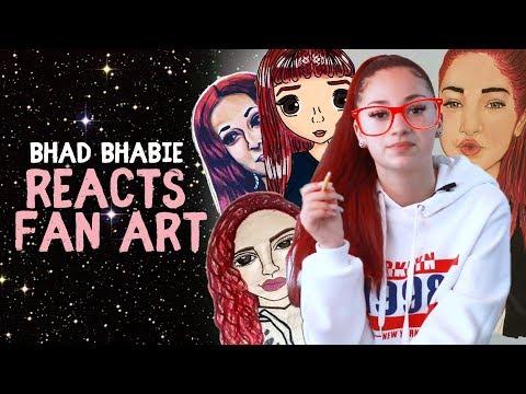 Danielle Bregoli is BHAD BHABIE Reacts to Fans Art thumbnail