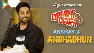 Ayushmann's Interview On DreamGirl | National Award For AndhaDhun | Rapid Fire On SRK & Salman