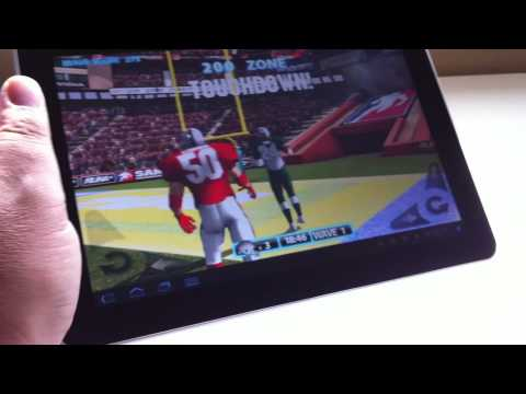 Samsung Galaxy Tab 10.1 review: Motion control