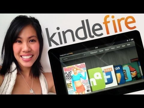 Amazon Kindle Fire FIRST LOOK and Top 5 apps!