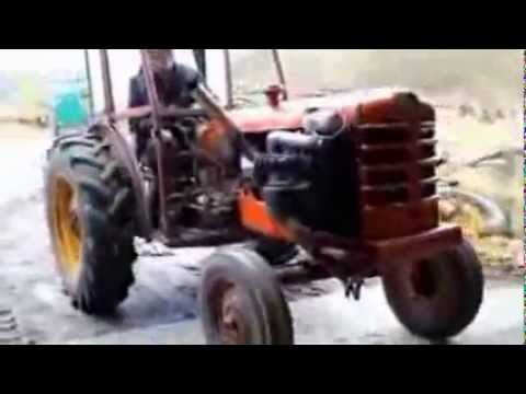 Amazing Tractor Stunt And Tuning video