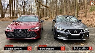 2019 Toyota Avalon Vs Nissan Maxima – Which Big Sedan Is Better?