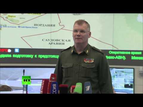 Минобороны РФ: Российская авиация за три дня нанесла удары по 285 объектам террористов в Сирии