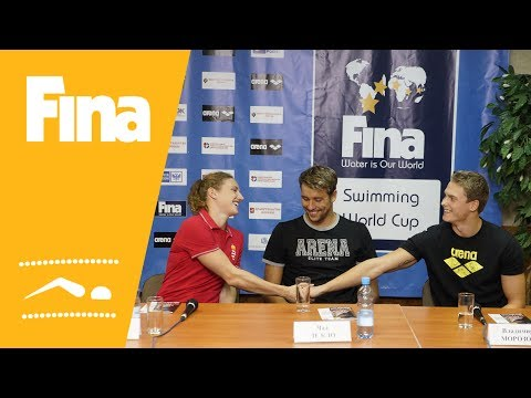 FINA Swimming World Cup 2013 - Moscow (RUS) - Press Conference