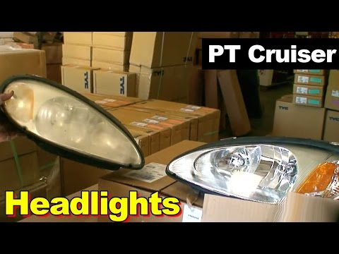 2001-2005 Chrysler PT Cruiser Headlight Repair Replacement