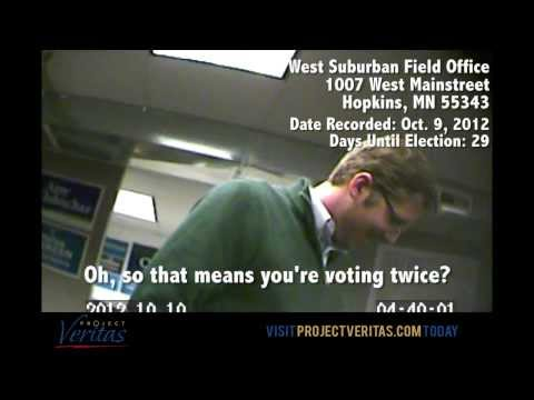 @ProjectVeritas_ EXCLUSIVE: Brooklyn, Minnesota, Florida - Voter Fraud Continues