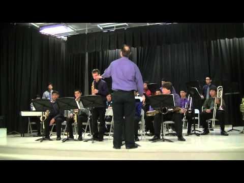 Archbishop Riordan High School Jazz Band 2013 Grape Bowl Classic Lodi Ca - 11/04/2013
