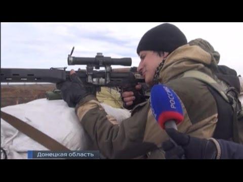 31й БлокПост Реальное Видео от Ополченцев 2015 Новости Украины Сегодня