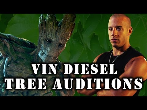 Supercut: Vin Treesel - Auditions Before He Was Groot