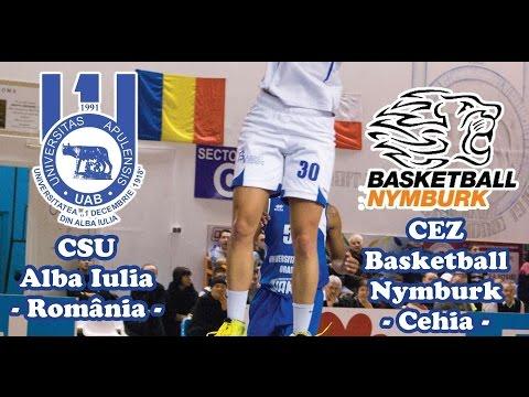 CSU Alba Iulia - Nymburk Basketball (CEWL 2014/2015 season)