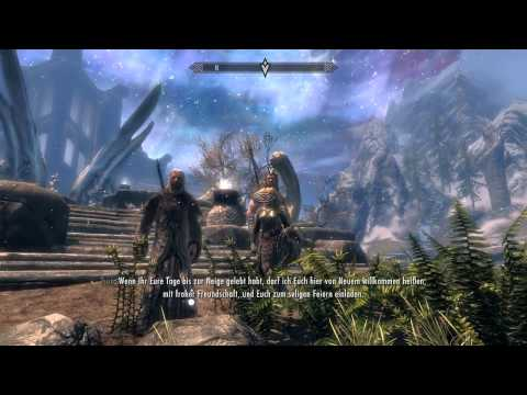 The Elder Scrolls V Skyrim Ending (Endboss) (German) [HD]