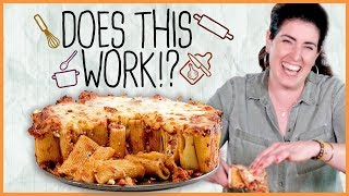 Rigatoni Pie!? We Test The Viral Recipe #DoesThisWork