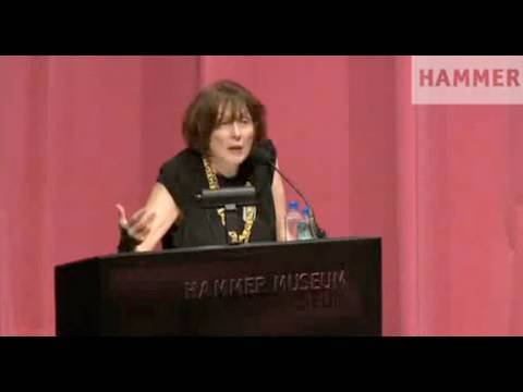 UCLA Department of Art Lectures: Marilyn Minter, Hammer Museum