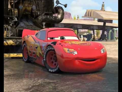 Arabalar - Finn Rocket ve Şimşek Mcqueen