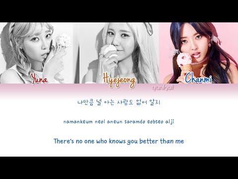 AOA Cream - I'm Jelly BABY (질투 나요 BABY) (Color Coded Han|Rom|Eng Lyrics) | by Yankat