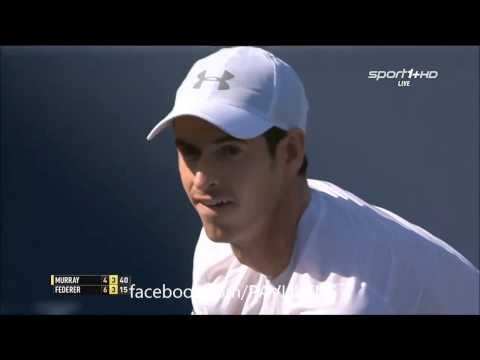 Andy Murray vs Roger Federer Highlights - Cincinnati Open 2015