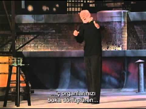George Carlin - Mikrop Korkusu (Türkçe Altyazı)