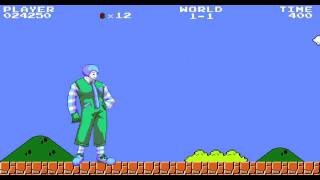 【MJ1  mugen 】麥當勞叔叔(藍藍路)挑戰瑪莉歐世界