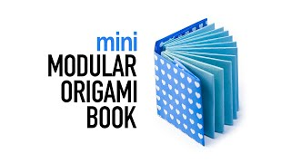 Mini Modular Origami Book Tutorial