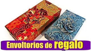 Como envolver regalos fácil. how to wrap gifts easy.