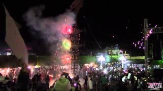 Quema De Castillo En Zapotitlan De Vadillo 11 Enero 2015