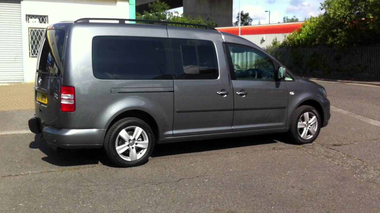 vw caddy maxi life with dark tints on all rear windows and. Black Bedroom Furniture Sets. Home Design Ideas