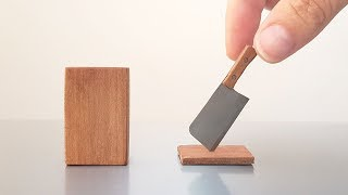 Mini MEAT CLEAVER - Worlds Best Fridge Magnet - BrainfooTV