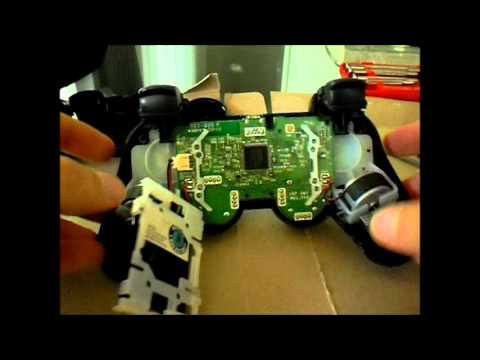 PS3 Controller Fix - Left Stick Causes Button  Presses