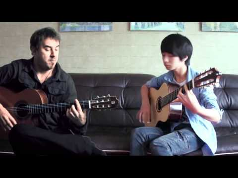 Cancion Del Mariachi - soYmartino & Sungha Jung Music Videos