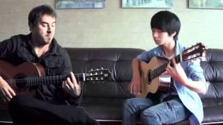 Cancion Del Mariachi - soYmartino & Sungha Jung